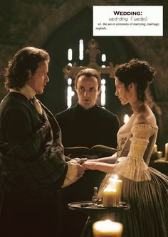 Voyager Sassenach : Outlander definitions.- Wedding. (x)
