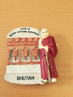 My own fridge magnet - Bhutan