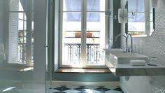 Hôtel luxe Paris 2ème - Chambre Deluxe - Hôtel Bachaumont