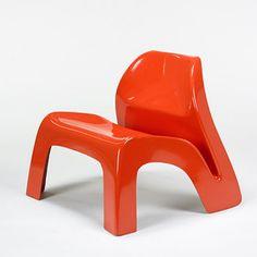 Luigi Colani lounge chair