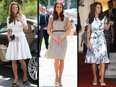 Kate Middleton Wears Three Outfits in a Day in Singapore : Alexander McQueen, a Raoul design and an Erdem dress