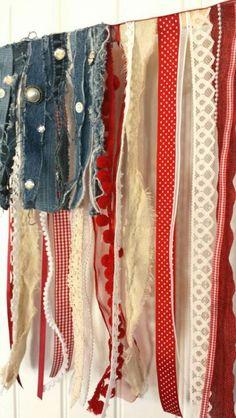 ... Fabric Garland on Pinterest