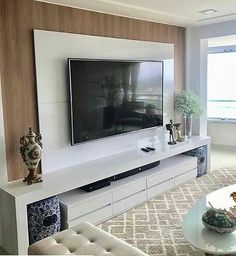 """Acquire excellent pointers on """"tv wall mount hide cords"""". They are on call for you on our website. Living Room Tv Unit Designs, Interior Design Living Room, Living Room Decor, Tv Unit Decor, Tv Wall Decor, Modern Tv Wall Units, Tv Unit Furniture, Tv Wall Design, Tv Cabinet Design Modern"""