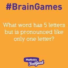 #BrainGames - Can you figure out this brain game?