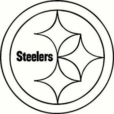 steelers football coloring pages - free template stencil houston texans nfl templates