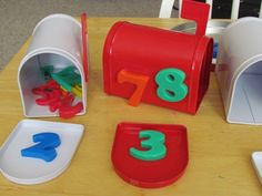 number recognition... maybe put objects inside & they match the # to the outside?