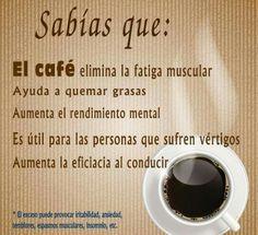 Beneficios del café.
