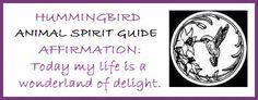 Animal Spirit Guide Hummingbird balancedwomensblog.com