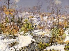 The Trout Brook -  Edward Willis Redfield