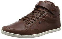 Boxfresh SWICH PREM ICN LEA, Herren Hohe Sneakers, Braun (CHESTNUT/TAUPE), 45 EU
