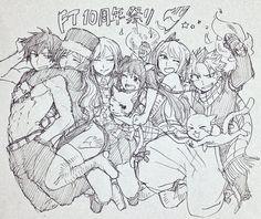 Fairy Tail (>w<)