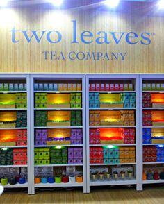 Two Leaves Tea Spain trade show!