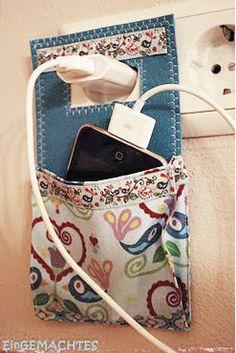 phone charging pocket