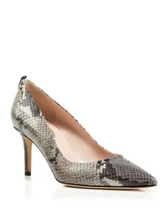 dacdfff63e20 Sjp by Sarah Jessica Parker Pumps - Bloomingdale s Exclusive Fawn Embossed  Mid Heel Exclusive Shoes