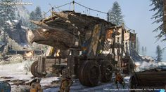 ArtStation - FOR HONOR Various screenshots in game, Olivier TREHET