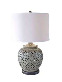 Trellis Table Lamp - MM Ching @LifeStyldLovely