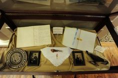 Original 1874 Constitution (left), original 1874 Alpha minutes (right), hair clip of Frances' & Founder photos! You can see these fabulous historic items and more at our Sorority's International Headquarters in Centennial, CO. #GammaPhiBeta