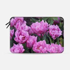 Purple tulips - Macbook Sleeve