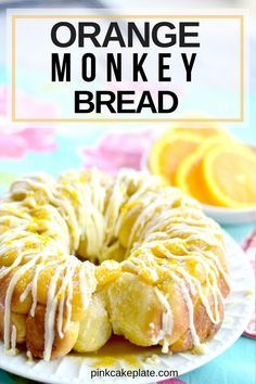 Bread Monkey Recipe Rhodes 53 Ideas For 2019 Brunch Recipes, Sweet Recipes, Citrus Recipes, Scones, Orange Monkey, Frozen Bread Dough, Bread Bun, Bread Cake, Bread And Pastries