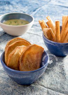 Receta Yuca y Batata Fritas: puedes servir como aperitivo o como acompañamiento en tus comidas. Te recomendamos una salsa para acompañar.
