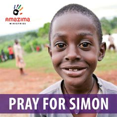 Please join us in prayer for Simon. Simon is a precious eight-year-old boy in Amazima's child sponsorship program. He has already received one esophageal surgery this week, and his doctors believe he may need additional surgeries in the coming days.