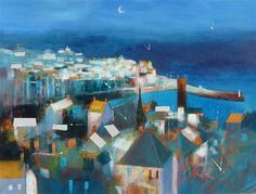 St Ives Blue by Glyn Macey