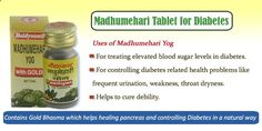 Baidyanath Madhumehari tablets is one of the best known medication detailing implied with the end goal of treatment of #diabetes. It's natural, safe and herbal medicine.