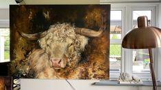 Classical Art, Cow, Moose Art, Original Paintings, Fine Art, Flooring, The Originals, Wall