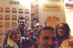 Selfie time with all Capatoast's Toasts!!