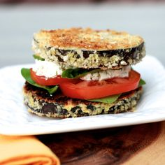 Tired of the usual PBJ? Try this delicious eggplant sandwich for a change!