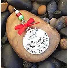 German Shepherd Memorial Christmas Ornament   Pet Memorial Ornament   Dog Keepsake Ornament   Pet Remembrance Ornament   Sympathy Gift