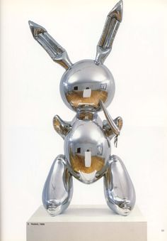 Jeff Koons - Rabbit