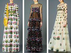 Valentino PreFall 2015 Flowers