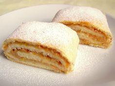 Baking Recipes, Cake Recipes, Snack Recipes, Dessert Recipes, Slovakian Food, Kolaci I Torte, Twisted Recipes, Czech Recipes, Small Desserts