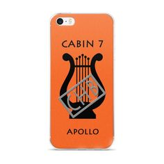 Camp Half-Blood Inspired Percy Jackson Cabin 7 Apollo iPhone Case