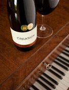 Creation strives to reward the wine lover with wines of rare balance, elegance, distinction & finesse, from South Africa's Walker Bay Wine Region, Hermanus. Wines, Piano, Bottle, Music, Musica, Musik, Flask, Muziek, Music Activities