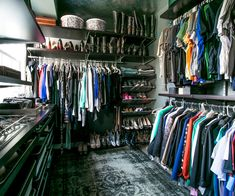 Laurel & Wolf provides some much-needed tips on organizing and conquering your messy closet.
