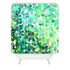 Rosie Brown Bubbles Shower Curtain | DENY Designs Home Accessories