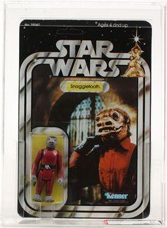 Star Wars Vintage SW Snaggletooth 21 Back-A AFA 85 (C80 B85 F85)