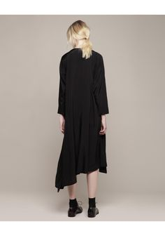 perfect for my body type Y's / Asymmetry Shirt Dress