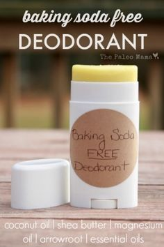 Baking Soda Free Deodorant – You don't need a lot of ingredients to make a perfect healthy deodorant! Baking Soda Free Deodorant – You don't need a lot of ingredients to make a perfect healthy deodorant! Diy Deodorant, Coconut Oil Deodorant, Homemade Natural Deodorant, Natural Deodorant That Works, Deodorant For Women, Homemade Soaps, Parfum Bio, Diy Cosmetic, Magnesium Oil