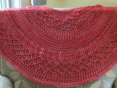 Ravelry: PrairiePipers Dinner in the Eiffel Tower Shawl