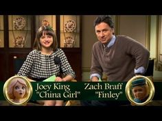 10 in 60 -- Zach Braff and Joey King - Oz The Great and Powerful