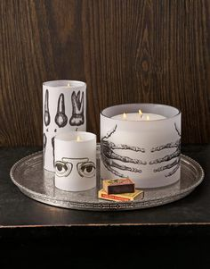 Halloween Candle Craft.THESE ARE NOT MY IMAGES. I DO NOT TAKE CREDIT FOR THEM