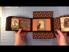 ▶ G45 Steampunk Spells Boxed Mini Album - YouTube.  Find the latest in Graphic 45 products here:  www.thehenhousenm.com