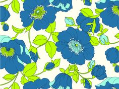 #yearofpattern march, florals with a twist - my second favorite kate spade pattern this year