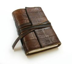 The Story Within - Rustic Brown Leather Journal - Primitive Art Journal…