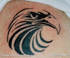 Tribal Eagle Tattoo | Tribal Eagle