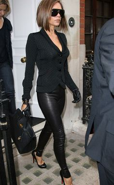 Victoria Beckham ... dislike her but LOVE her style. Must have everything on her body except the jacket.