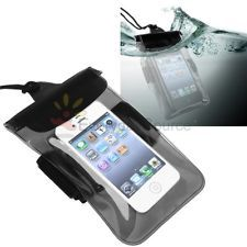 Black Waterproof Pouch Dry Armband Case Cover for Samsung Galaxy S3 SIII Note 2